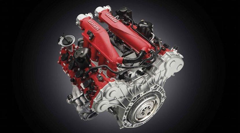 Ferrari V8 biturbo