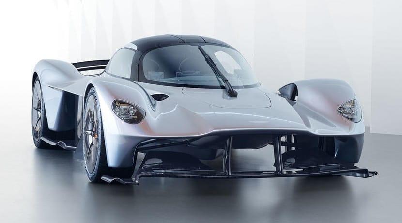 Frontal del Aston Martin Valkyrie