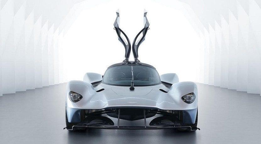 Puertas del Aston Martin Valkyrie