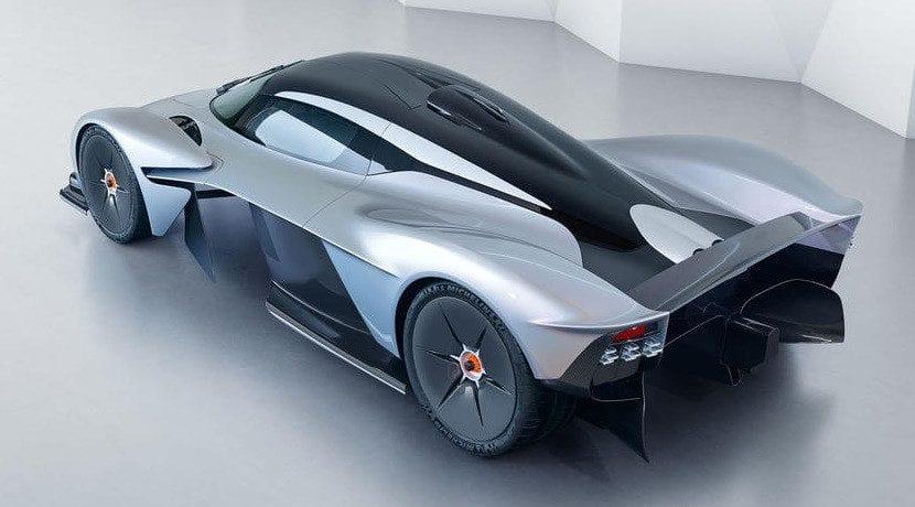 Techo del Aston Martin Valkyrie