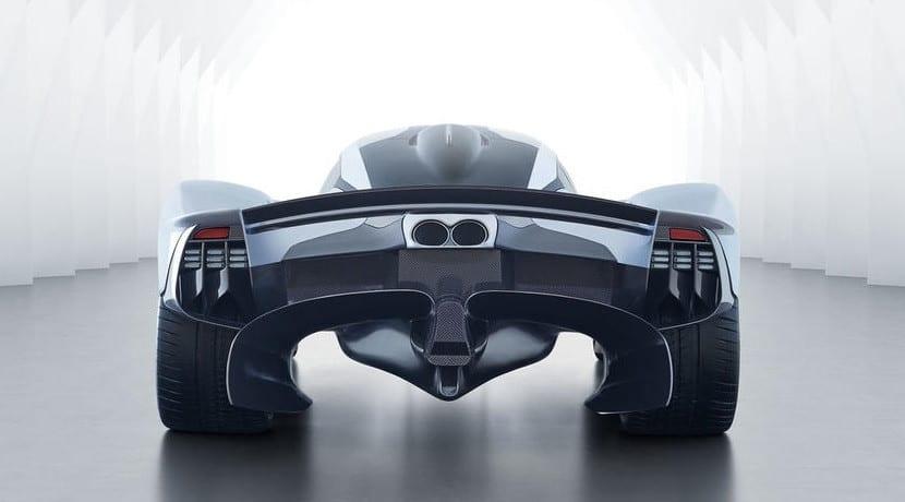 Difusor del Aston Martin Valkyrie