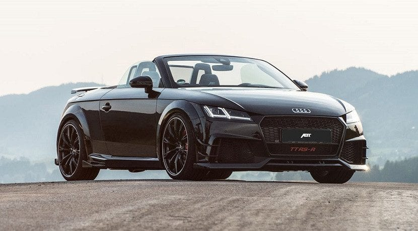 Frontal del Audi TT RS-R Roadster de ABT