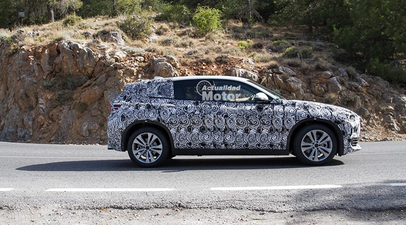 Fotos espía del BMW X2