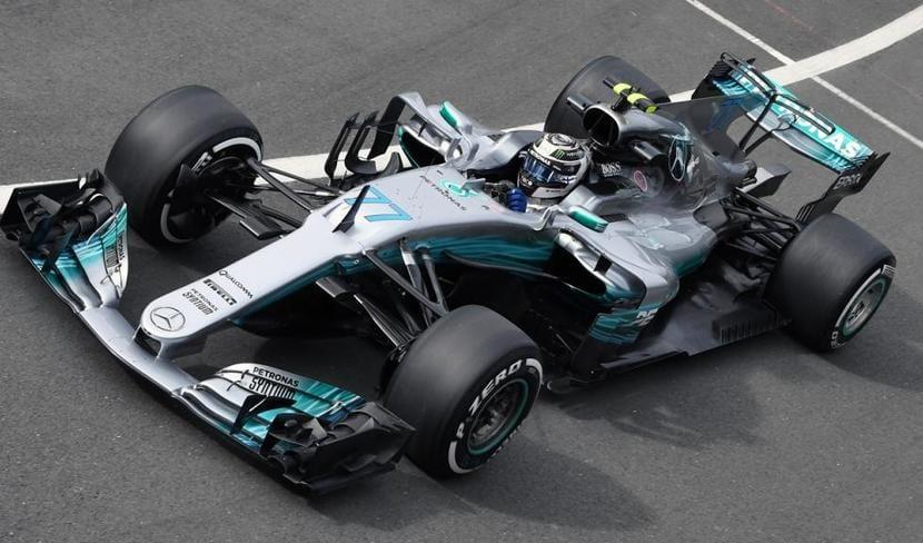 Bottas en el GP de Gran Bretaña