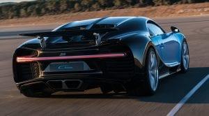 Consumo del Bugatti Chiron