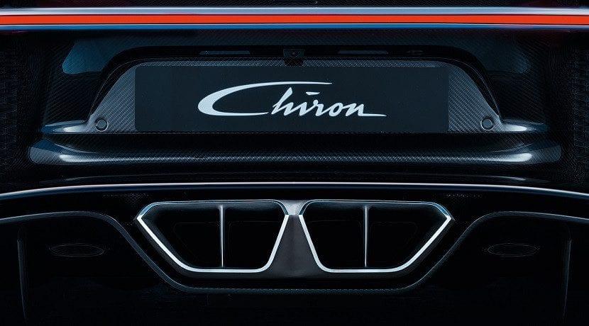Tubos de escape Consumo del Chiron publicado por Bugatti