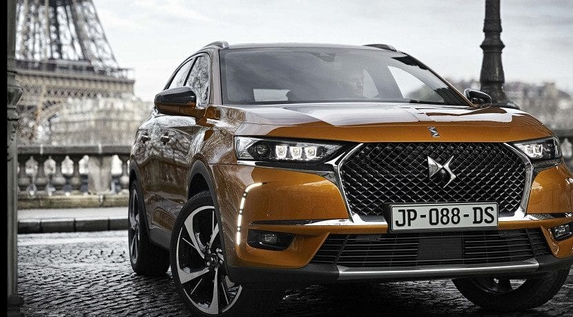 DS 7 Crossback con suspensión Active Scan