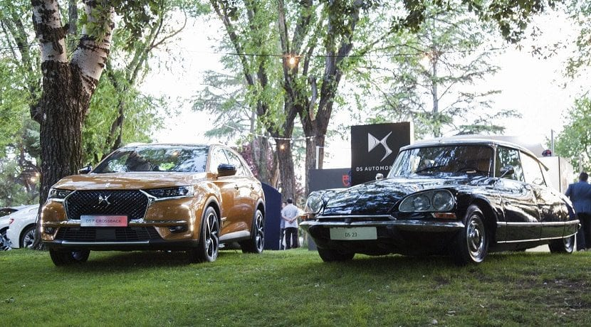 DS 7 Crossback con suspensión Active Scan y DS 23 con suspensión hidroneumática