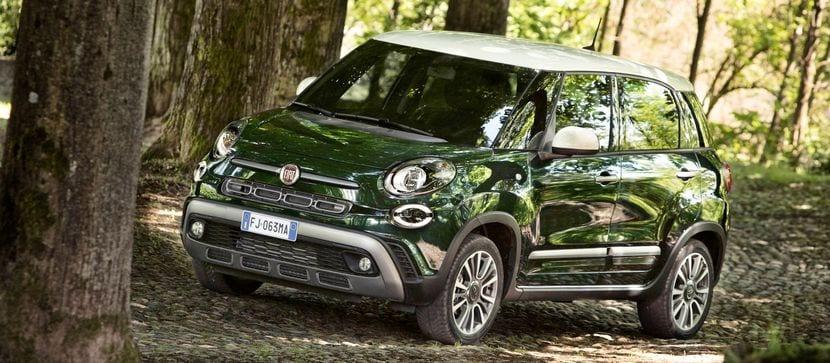 EL chasis del Fiat 500L estrenó la plataforma B-Wide de la marca