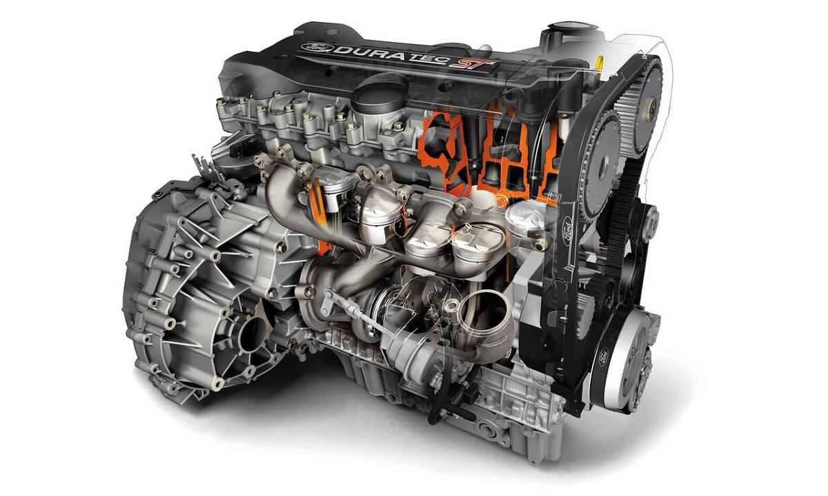 Motor de Duratec DOHC de Ford