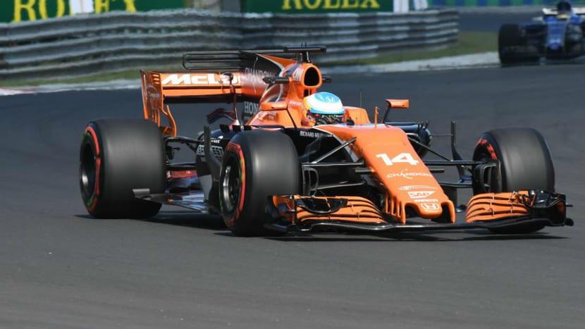 Fernando Alonso GP de Hungría 2017