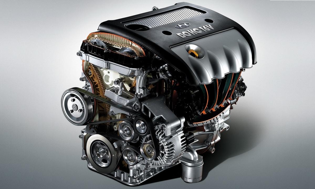 Motor DOHC de Hyundai