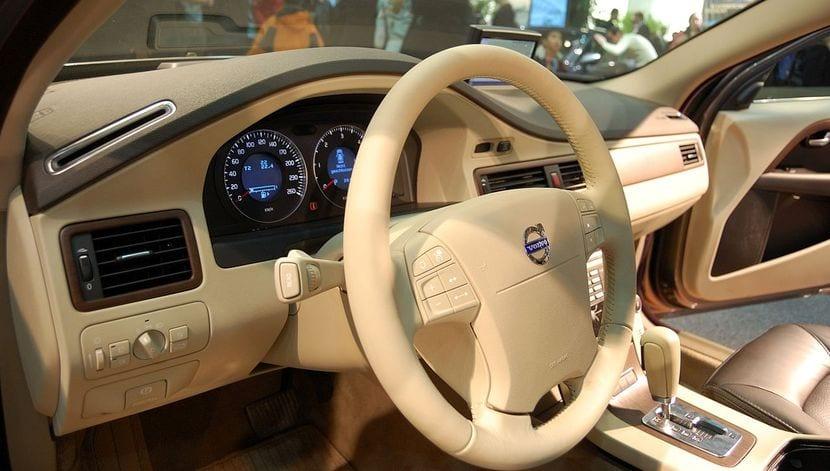 Detalle interior del Volvo XC 60