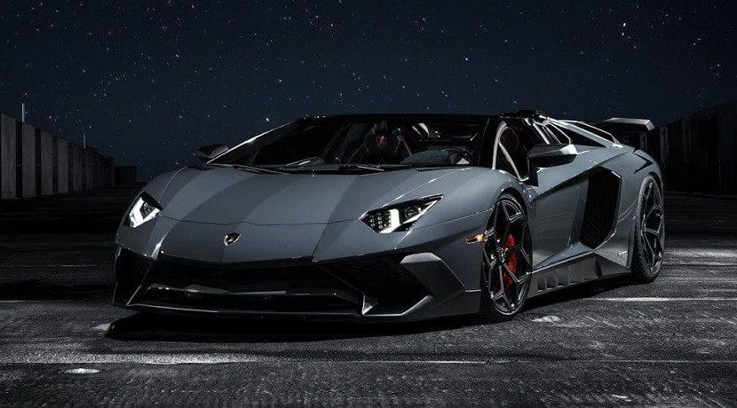 Frontal del Lamborghini Aventador SV Torado de Novitec