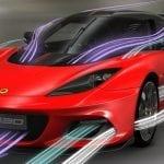 Aerodinámica del Lotus Evora GT430