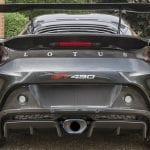 Difusor y escape del Lotus Evora GT430
