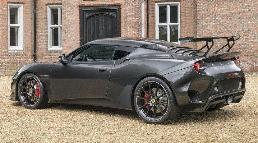 Trasera del Lotus Evora GT430
