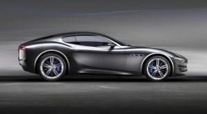 Lateral del Maserati Alfieri