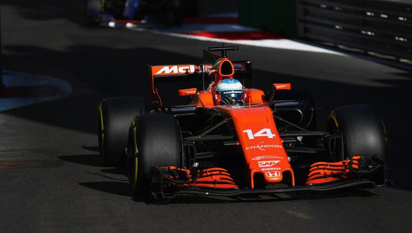 Fernando Alonso en Austria