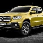 Frontal de la Pick-up de Mercedes (Clase X)