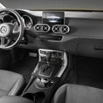 Interior de la Pick-up de Mercedes (Clase X)