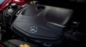 Motor del Mercedes Clase A
