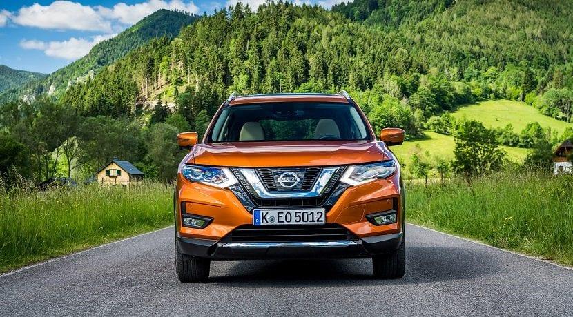 Frontal Nissan X-Trail 2017 ya a está a la venta