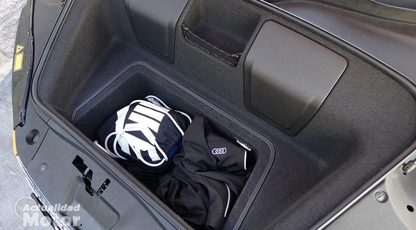 Prueba Audi R8 V10 Plus maletero