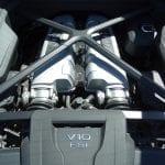 Prueba Audi R8 V10 Plus motor