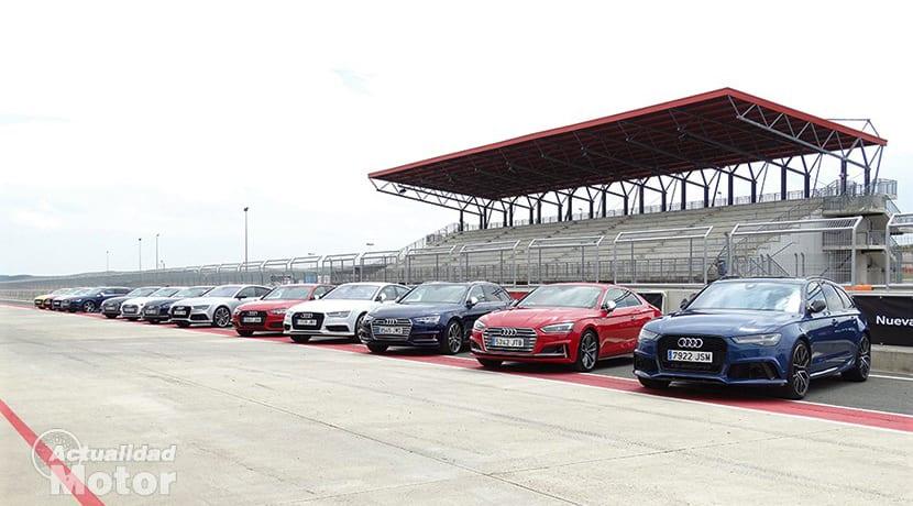 Prueba Gama Audi S en Circuito de Navarra