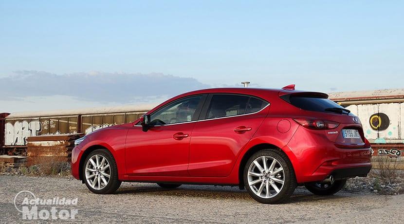 Prueba Mazda3 Luxury 2.0 Skyactiv-G 120
