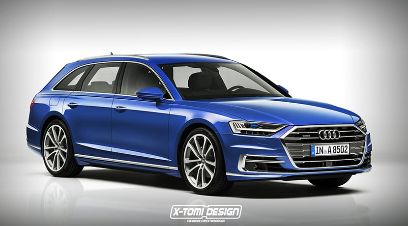 Render de X-Tomi Design de un Audi