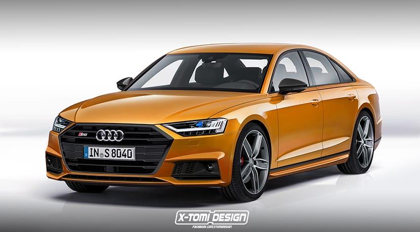 Render de X-Tomi Design de un Audi S8