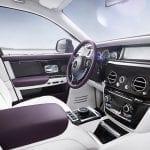 Plazas delanteras del Rolls-Royce Phantom 2018