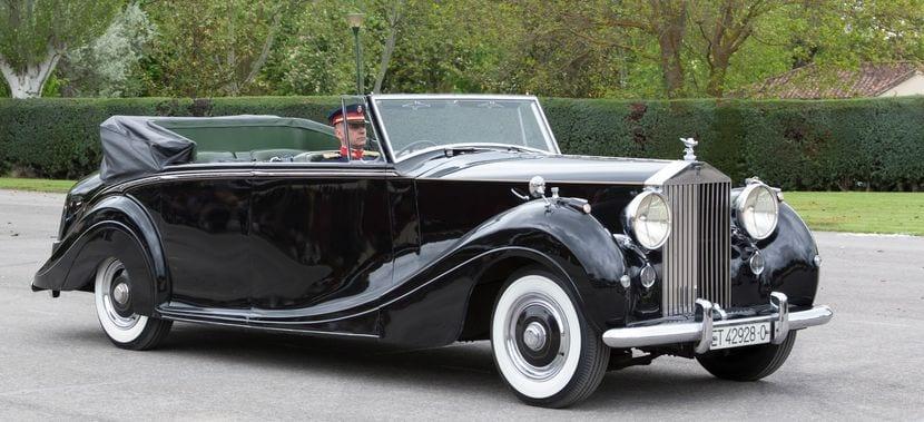 Detalle del Rolls Royce Phantom IV 4AF18