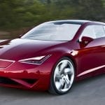 Seat Eléctricos Seat IBe Concept Rojo Frontal