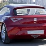 Seat Eléctricos Seat IBe Concept Rojo Trasera