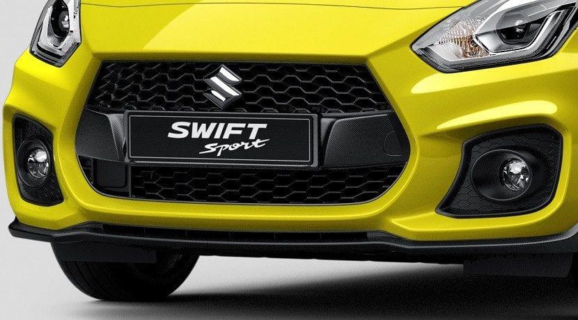 Entradas de aire del Suzuki Swift Sport 2017