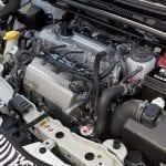 Motor del Toyota Yaris GRMN