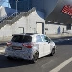Trasera del Toyota Yaris GRMN