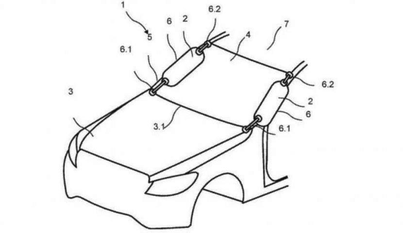 Mercedes-Benz airbags pilar A