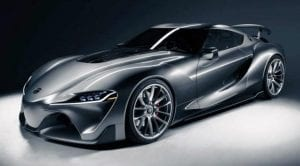 Toyota FT1 Graphite Concept