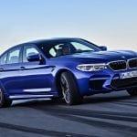 BMW M5 2018 derrapando