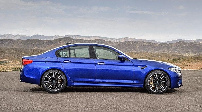Lateral del BMW M5 2018