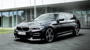 Frontal del BMW Serie 5 AC Schnitzer