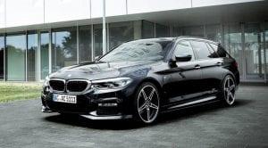 Frontal del BMW Serie 5 AC Schnitzer