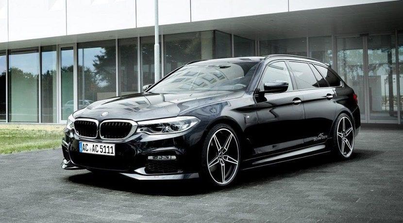 Frontal del BMW Serie 5 de AC Schnitzer