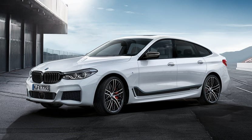 Accesorios M Performance BMW Serie 6 GT