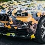 Faros del BMW X2 camuflado