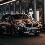 Frontal del BMW X2 camuflado
